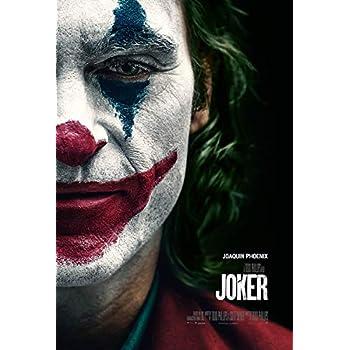Cinemaflix Joker 2019 Joaquin Phoenix Movie Poster 24x36 Inches