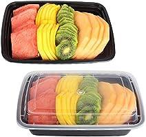Recipiente de plástico para comida – 50 unidades de calidad ...