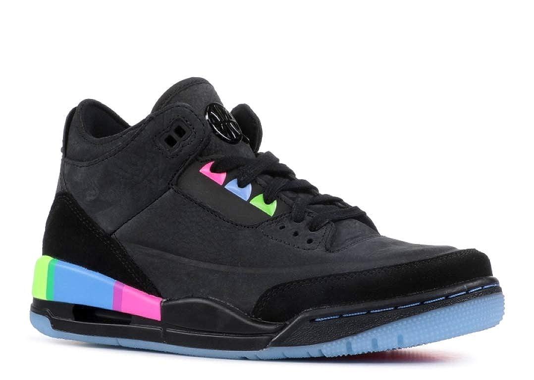 online store 6c1cf e8557 Amazon.com | Air Jordan 3 Retro Se Q54 (Gs) 'Quai54 ...