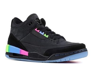 352c54b59e4d18 Image Unavailable. Image not available for. Color  Air Jordan 3 Retro Se  Q54 (Gs)  Quai54  - At9194-001