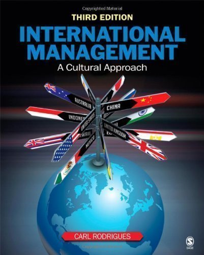 International Management :: Cultural Approach 3RD EDITION