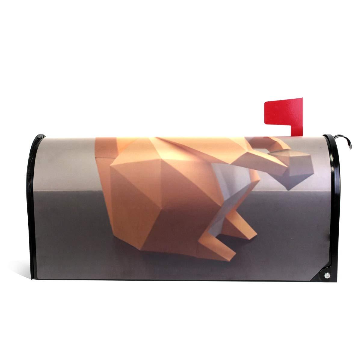 Ladninag Mailbox Covers Magnetic DIY Squirrel Standard
