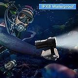 eecoo Diving Flashlight, 18000 Lumen IPX8