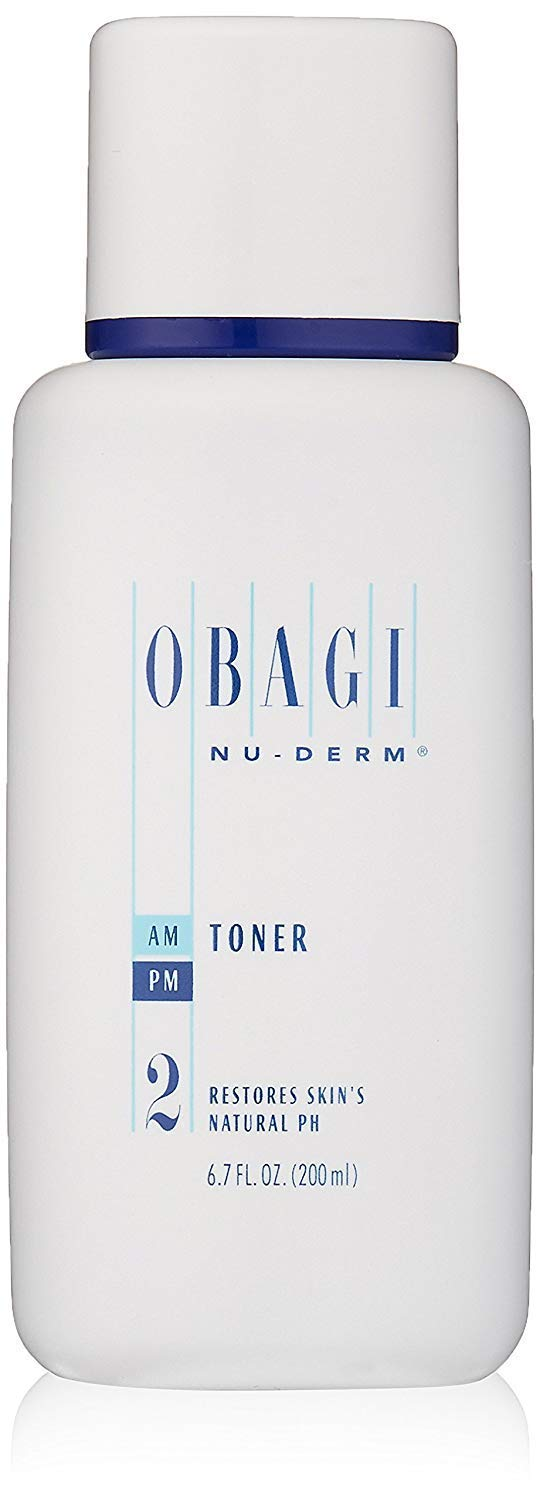 Obagi Medical Nu-Derm Face Toner, Alcohol Free Toner with Witch Hazel and Aloe Vera for Oily Skin or Dry Skin Types, 6.7 Fl Oz. Pack of 1