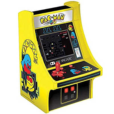"""Johnson Smith Co. - DREAMGEAR Pac-Man Micro Player - The Whole Game in Your Hand - Approx 4"""" x 4.25"""" x 6"""""""