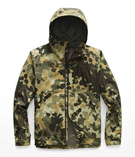 (The North Face Men's Millerton Jacket New Taupe Green/Macrofleck Camo Print X-Large )