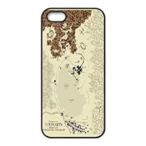 [H-DIY CASE] For Apple Iphone 5 5S -The Marauders Map - Harry Potter-CASE-15