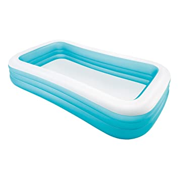 Piscina hinchable rectangular