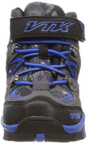 0f2c1bc12da36 En Trekking Shoes Chaussures Bottes Outdoor Sporty Garçon D hiver De Neige  Léger Noir Vitike Randonnée D escalade Enfants Walking Pour Coton qHF5w5C
