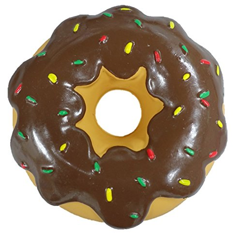 - Latex Donut Dog Toy (Brown)