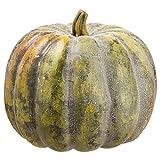 12''Hx13''W Artificial Weighted Pumpkin -Green (pack of 2)