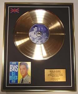 ELVIS PRESLEY/Cd Disco de Oro Disco Edicion Limitada/G.I. BLUES