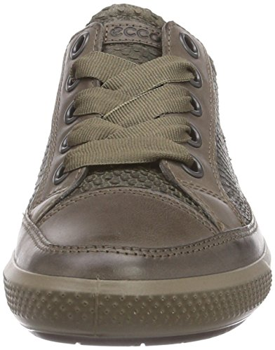 Scarpe Sneaker Marrone Derby Stringate 55870 Donna Clay dark Dress ECCO Basse Tarmac ECx5nwwq