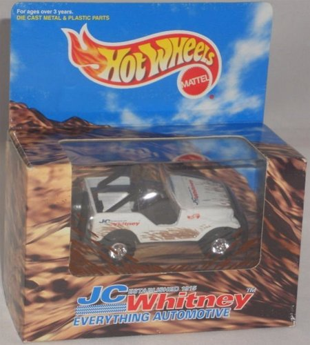 Hot Wheels JC Whitney Roll Patrol Jeep White #18673 Boxed