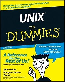unix for dummies 9780764541476 computer science books amazon com