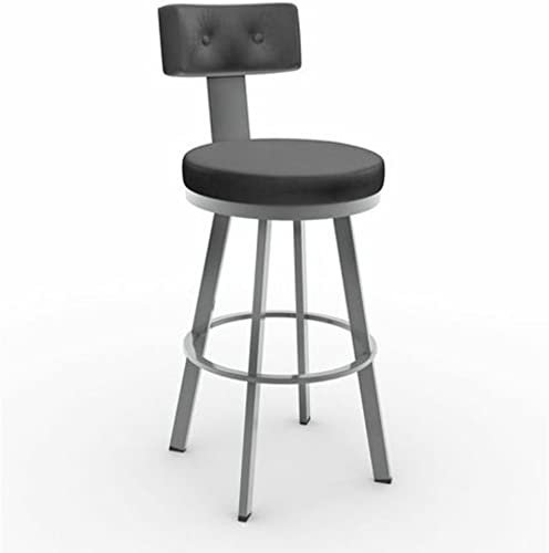 Amisco Tower Swivel Metal Counter Stool