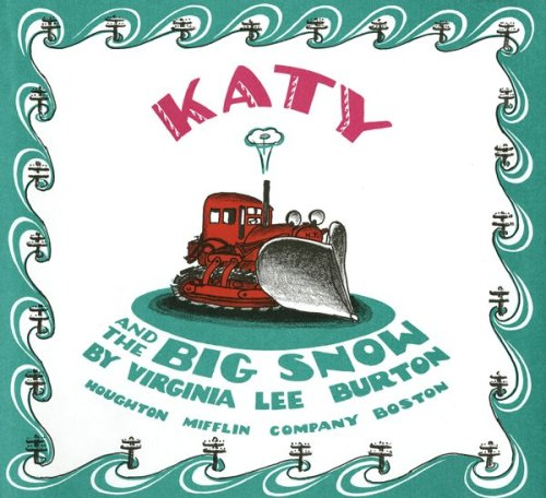 Katy and the Big Snow Book & CD by Houghton Mifflin Co