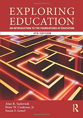 Pdf Teaching Exploring Education: An Introduction to the Foundations of Education