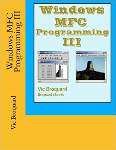 Windows MFC Programming III