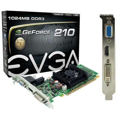 Evga Geforce G210 Sddr3 1024mb (01g-p3-1312-lr) -