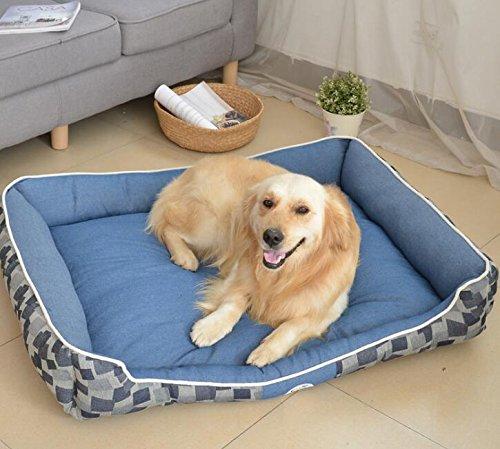 negozio di vendita outlet OHlive Accogliente Forniture Forniture Forniture per Animali Domestici per Animali Domestici con materassino per Gatti, Nido Gatto Rimovibile Blu  acquista online oggi