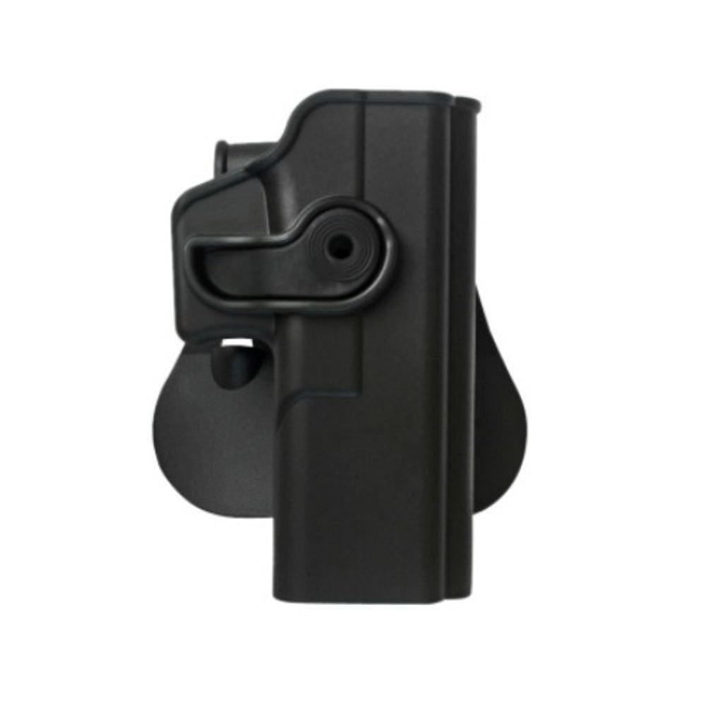 Glock Glock Glock 17/22/31/32/glock Glock Glock Glock 19/23/36Polymer Retention Roto Holster con integrada, Con Bolsillo Para Cargador) Desert Tan