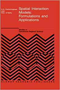 spatial interaction models formulations and applications pdf