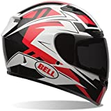 Bell Qualifier DLX Full Face Motorcycle Helmet (Clutch Red, XX-Large) (