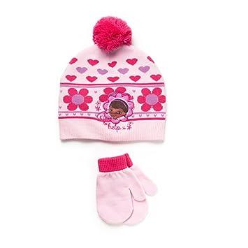 7e6f1b2707b Amazon.com  Disney Doc McStuffins Toddler Girl Beanie Knit Hat and ...
