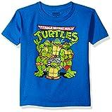 Nickelodeon Boys' Toddler Boys' T-Shirtnage Mutant Ninja Turtles Group T-Shirt Shirt