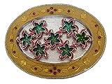 Craft Art India Handmade Earthen Clay / Terracotta Decorative Dipawali / Diwali Diya / Tealight / Oil Lamps for Pooja / Puja