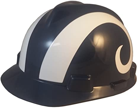 f566c914f0a Image Unavailable. Image not available for. Color  MSA NFL Team Safety  Helmets ...