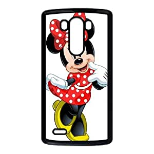 LG G3 case , Mickey Mouse Disney Minnie Mouse Cell phone case Black for LG G3 - LLKK0795008