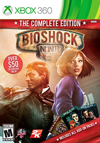 51xhle4zHgL - Bioshock Infinite: The Complete Edition - Xbox 360