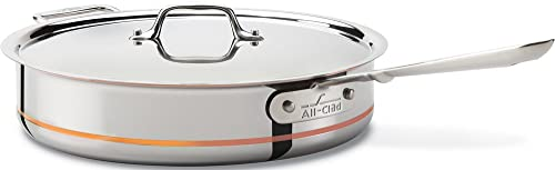 All-Clad 6405 SS Copper Core 5-Ply Bonded Dishwasher Safe Saute Pan