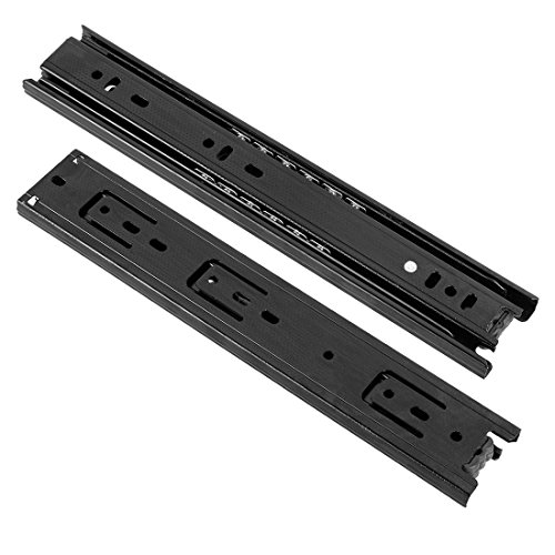 10 inch black drawer slides - 7