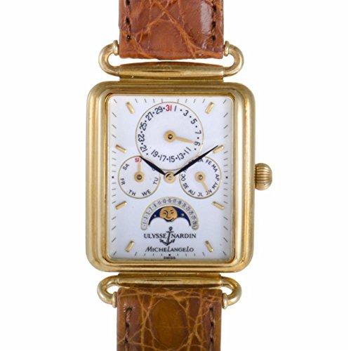 Ulysse-Nardin-MichelAngelo-automatic-self-wind-mens-Watch-161-42-Certified-Pre-owned