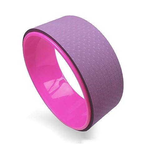 Amazon.com : Yoga Wheel Strong Premium Roller,for Dharma ...
