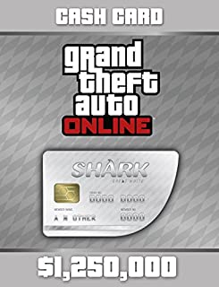 Grand Theft Auto V: Great White Shark Cash Card - PS4 [Digital Code] (B00PYJSSWO) | Amazon Products