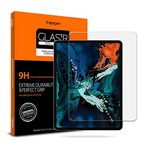 Spigen Tempered Glass Screen Protector Designed for The iPad Pro 12.9 (2018 Release) [1 Pack]