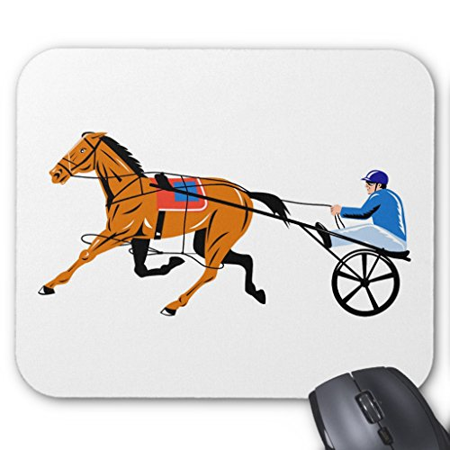 Zazzle Harness Cart Horse Racing Sulkies Mouse Pad for $<!--$20.85-->