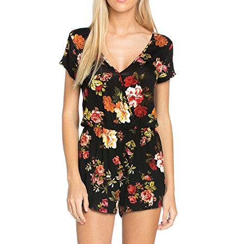 Fashionazzle-Womens-Off-the-Shoulder-Short-Sleeve-Casual-Romper