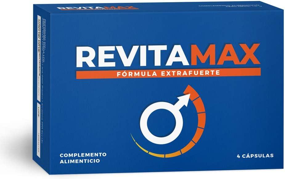 Revitamax - 4 cápsulas: Amazon.es: Salud y cuidado personal