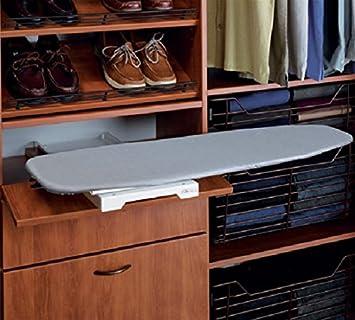 Bügelbrett Im Schrank Integriert hafele ironfix bügelbrett integrierte seitliche bügelbrett amazon