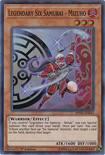 Legendary Six Samurai - Mizuho - SPWA-EN045 - Super Rare - 1st Edition - Spirit Warriors (1st Edition)