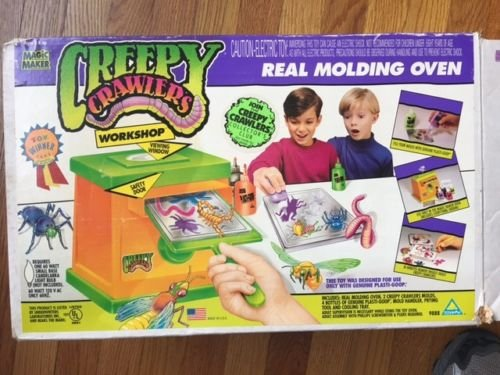Creepy Crawlers Brand Workshop Real Molding Oven - Magic Maker - Original - 1994 - Vintage - Bugs - Creepy Crawlers