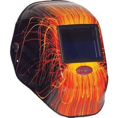 Honeywell 2999BV913X3 FMX Tigerhood Futura Welding Helmets, Fmx Wire Burner Auto Dkning Var. Shade