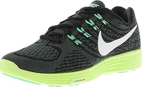Nike Femmes Lunartempo 2 Chaussure De Course Noir / Vert Lueur-cannon