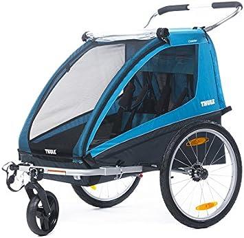 Thule TH10101801 Coaster2 +kit Bike +kit Paseo Azul: Amazon.es: Deportes y aire libre