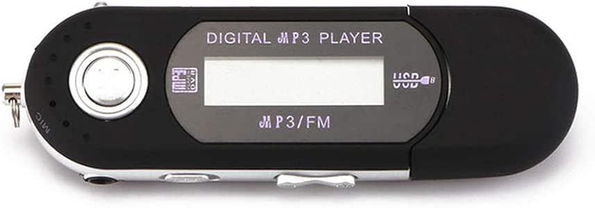 Portable Mini USB Flash LCD Digital MP3 Player Support Flash 32GB TF Card Slot FM Radio